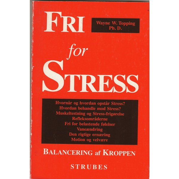Image of   Fri For Stress - Wayne W. Topping - Bog