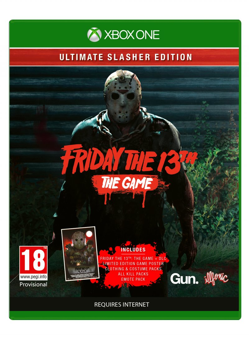 Image of   Friday The 13th (game Of The Year Edition) - Xbox One