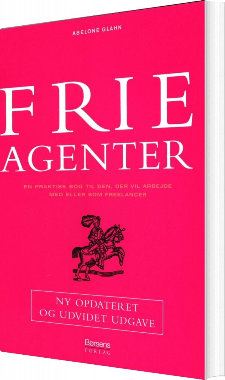 Image of   Frie Agenter - Abelone Glahn - Bog
