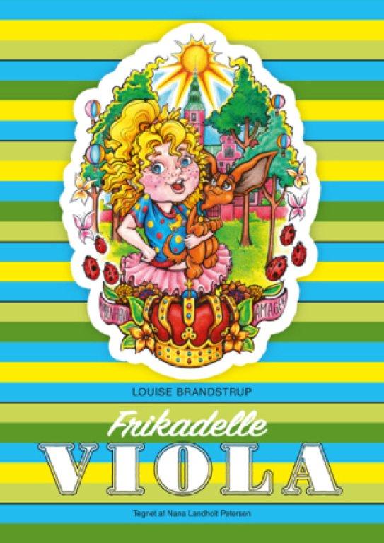 Frikadelle Viola - Louise Brandstrup - Bog