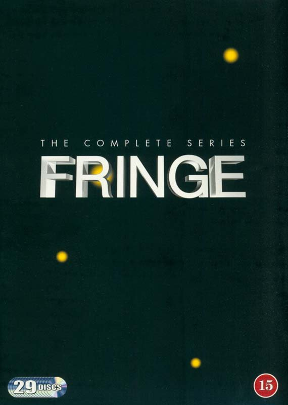 Fringe - Den Komplette Serie - Sæson 1-5 - DVD - Tv-serie