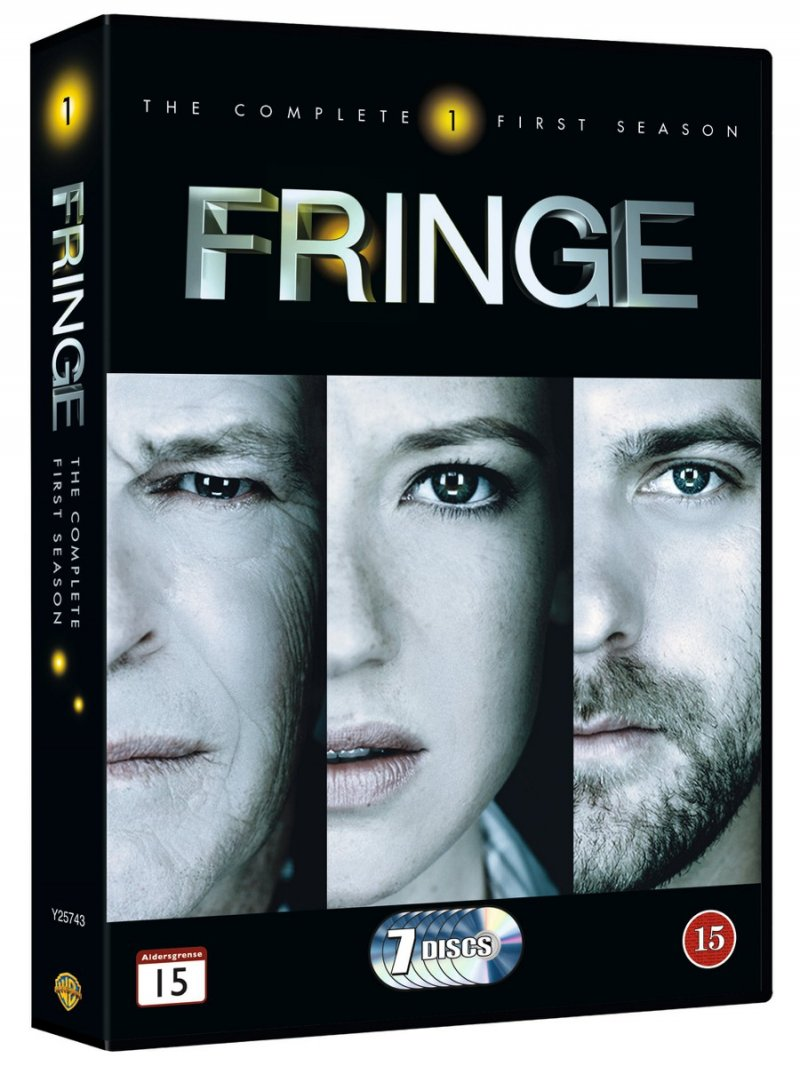 Image of   Fringe - Sæson 1 - DVD - Tv-serie