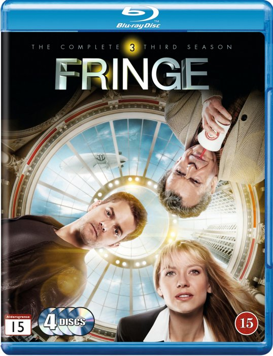 Image of   Fringe - Sæson 3 - Blu-Ray - Tv-serie