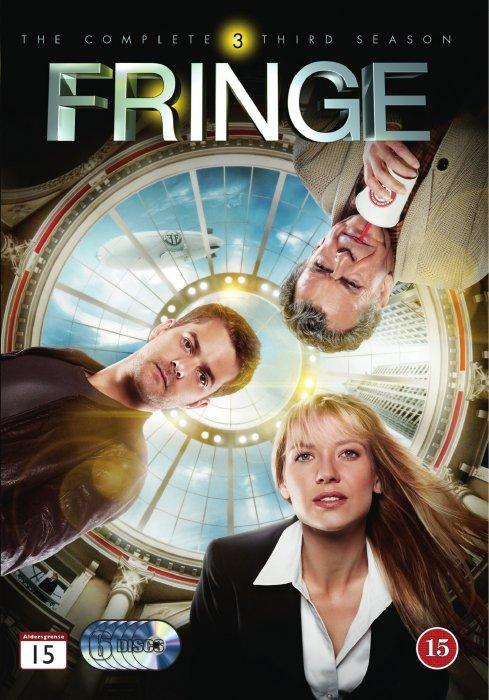 Image of   Fringe - Sæson 3 - DVD - Tv-serie