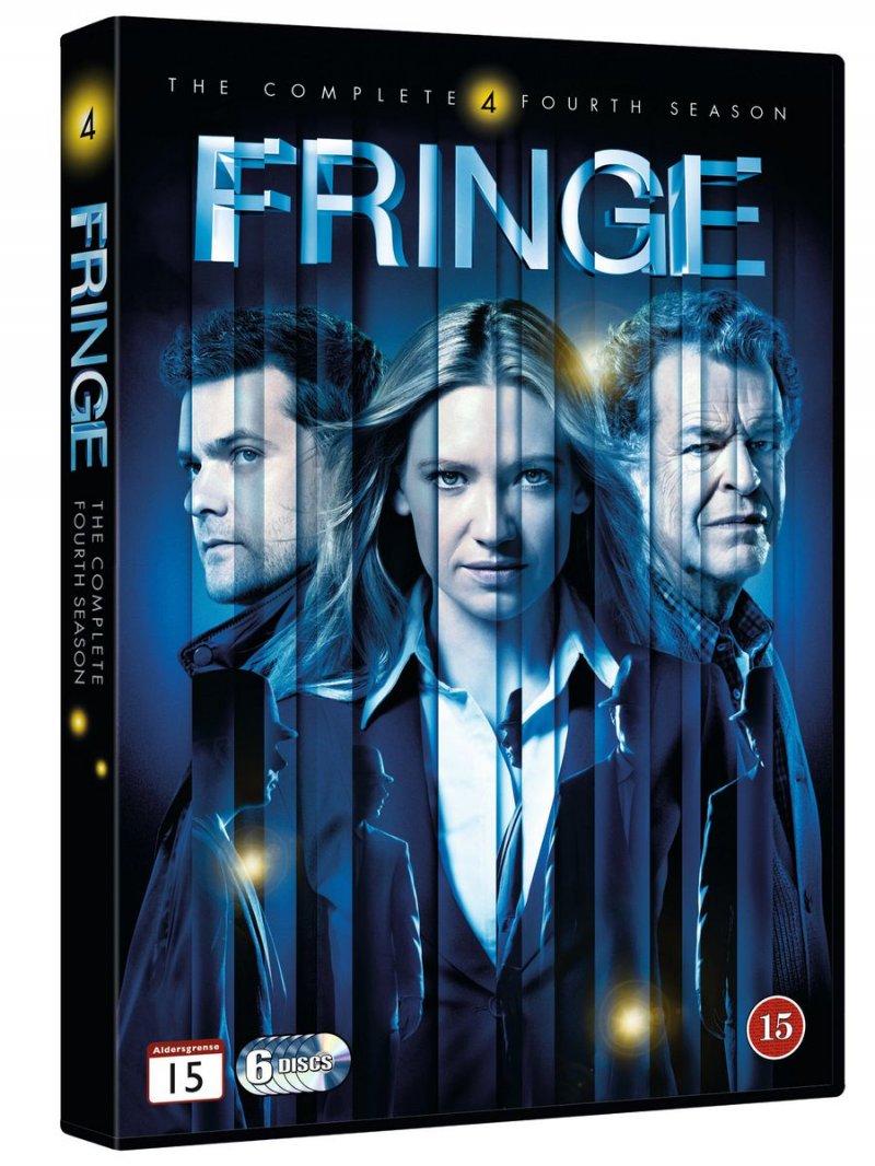 Image of   Fringe - Sæson 4 - DVD - Tv-serie