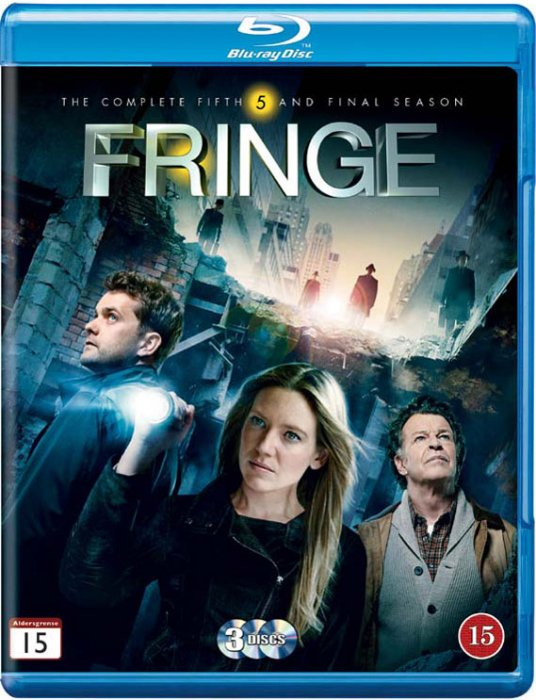 Image of   Fringe - Sæson 5 - Blu-Ray - Tv-serie