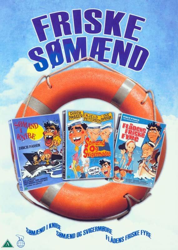 Image of   Flådens Friske Fyre // Sømand I Knibe // Sømænd Og Svigermødre - DVD - Film