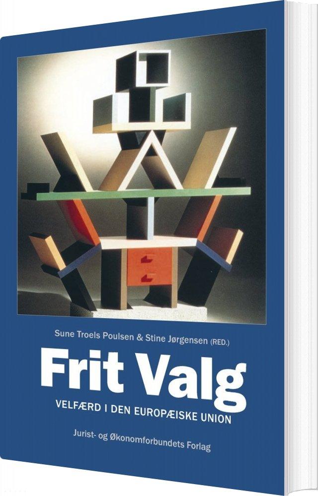 Image of   Frit Valg - Stine Jørgensen - Bog