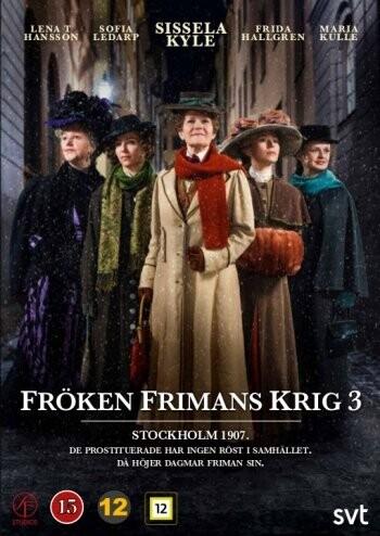 Billede af Frøken Frimans Krig - Sæson 3 - DVD - Tv-serie
