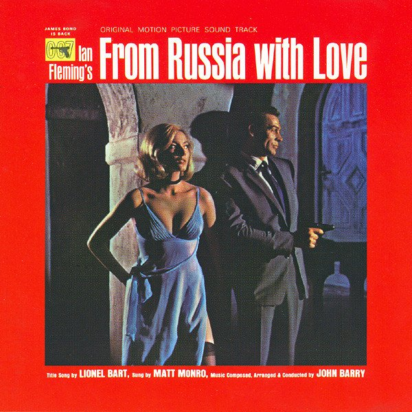 John Barry - From Russia With Love (original Motion Picture Soundtrack) - Vinyl / LP