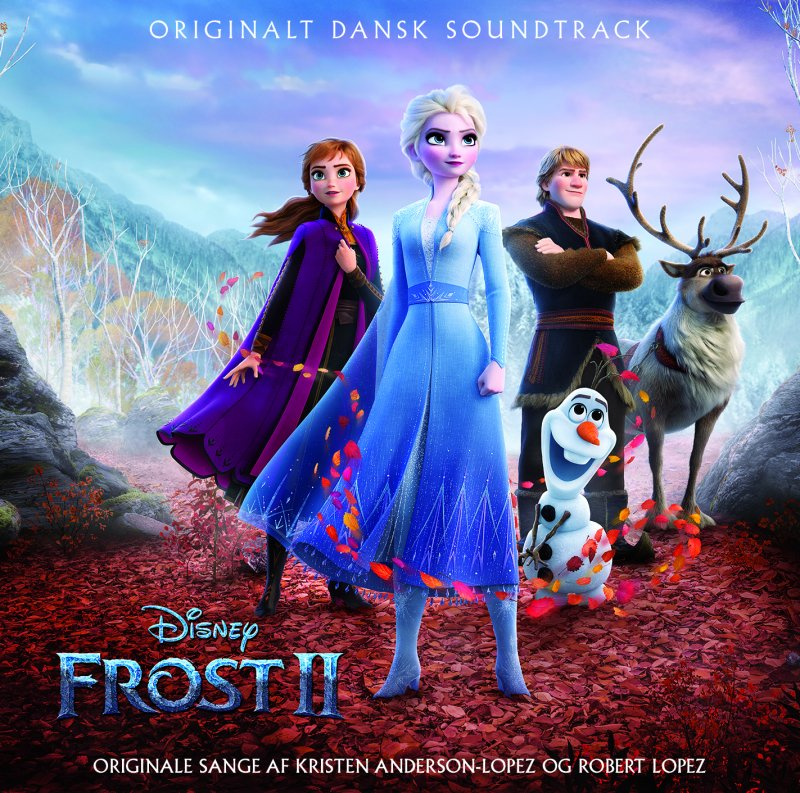 Image of   Frost 2 - Soundtrack På Dansk - CD