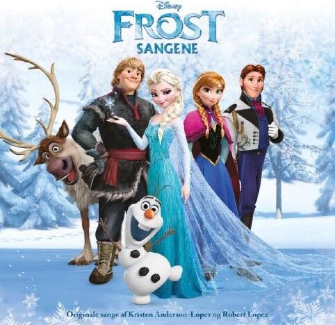 Image of   Frost Sange På Dansk - Soundtrack - CD