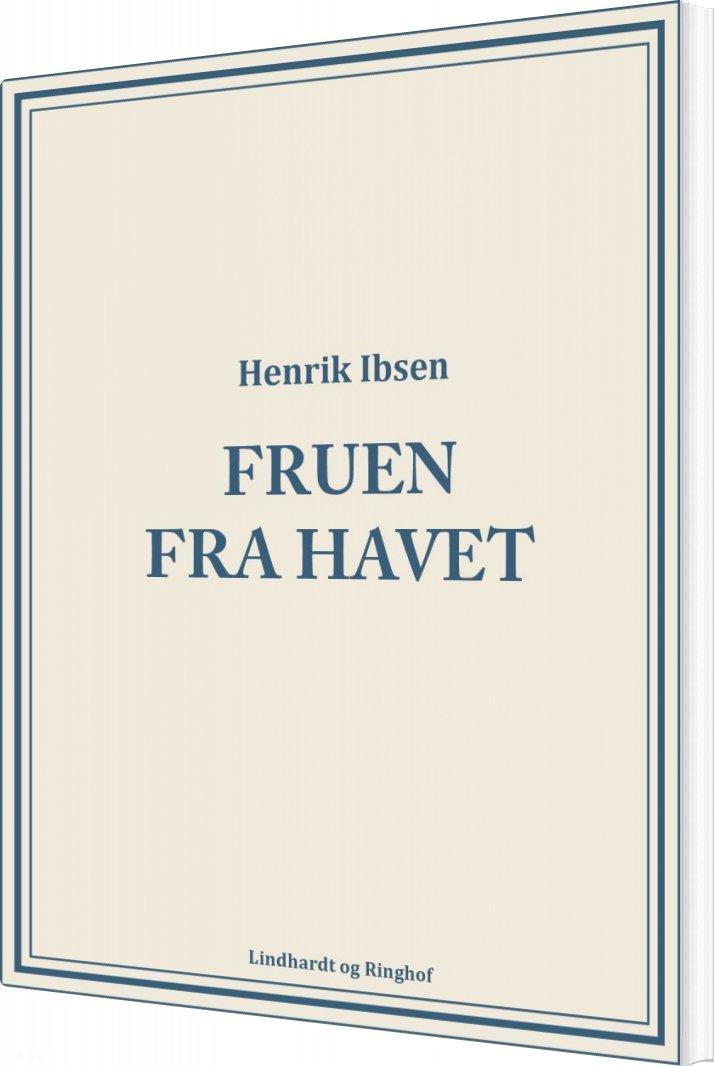 Image of   Fruen Fra Havet - Henrik Ibsen - Bog