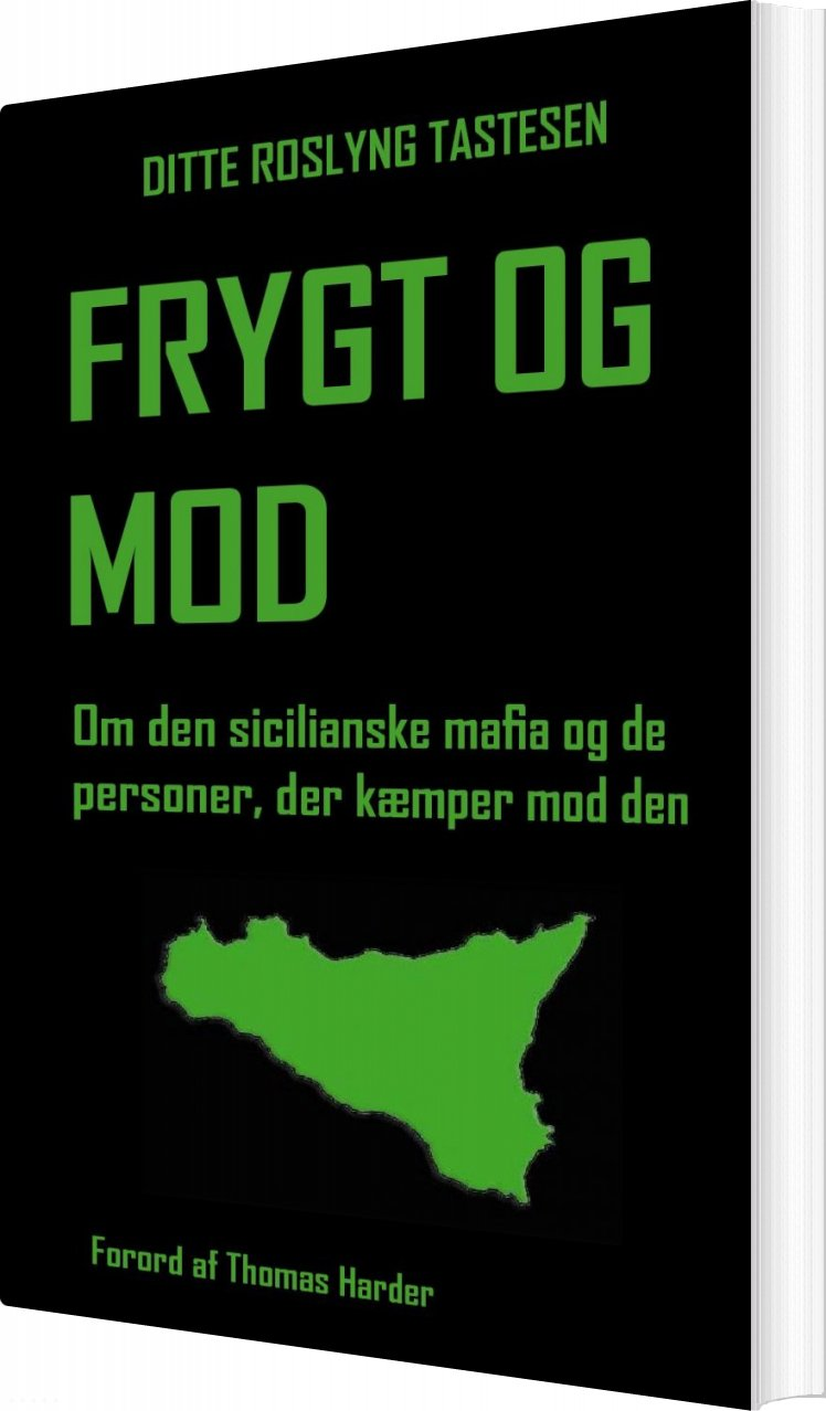 Image of   Frygt Og Mod - Ditte Roslyng Tastesen - Bog