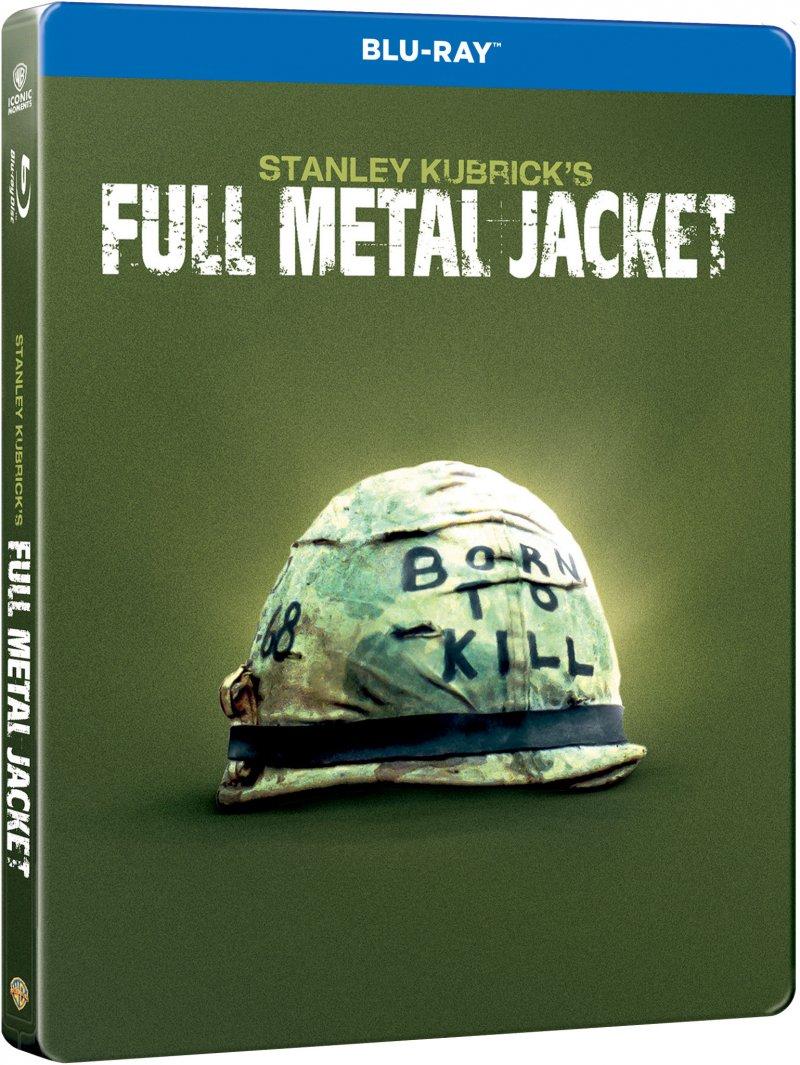 Billede af Full Metal Jacket - Steelbook - Blu-Ray