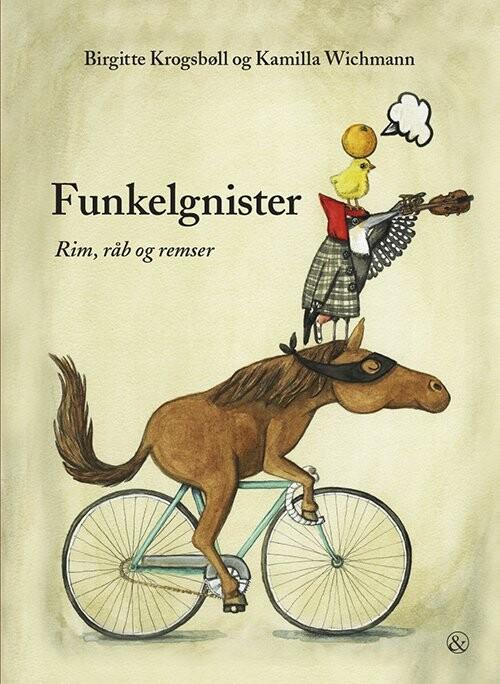 Image of   Funkelgnister - Birgitte Krogsbøll - Bog