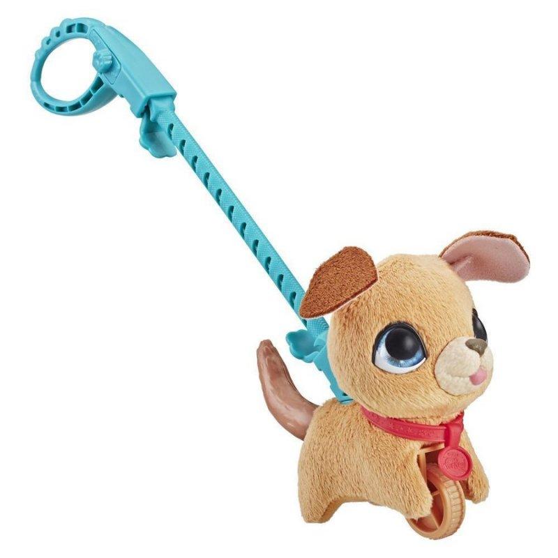 Furreal - Walkalots Lil Wags - Hunde Bamse I Snor - Brun