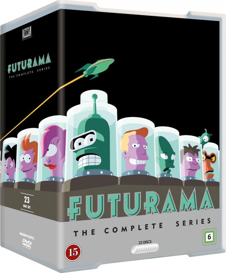 Futurama - Sæson 1-8 - DVD - Tv-serie