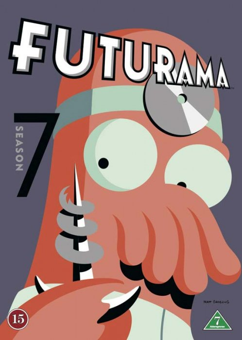 Image of   Futurama - Sæson 7 - DVD - Tv-serie