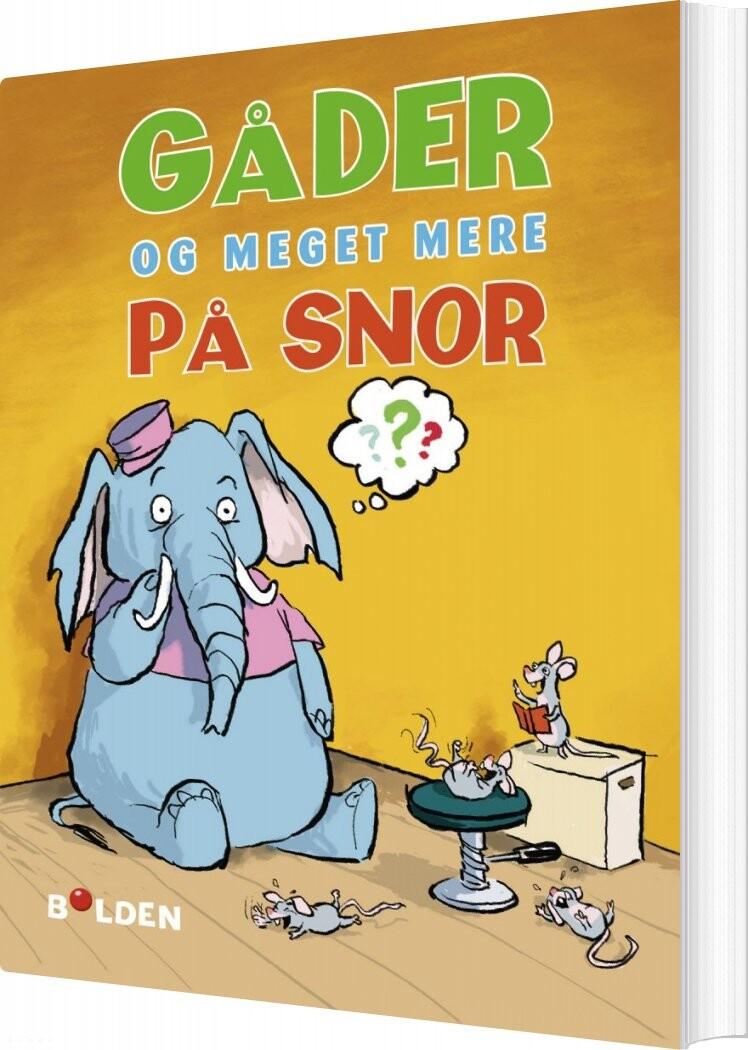Image of   Gåder Og Meget Mere - Diverse - Bog