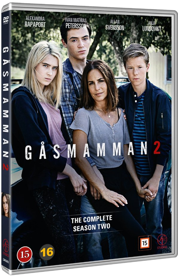 Image of   Gåsmamman - Sæson 2 - DVD - Tv-serie