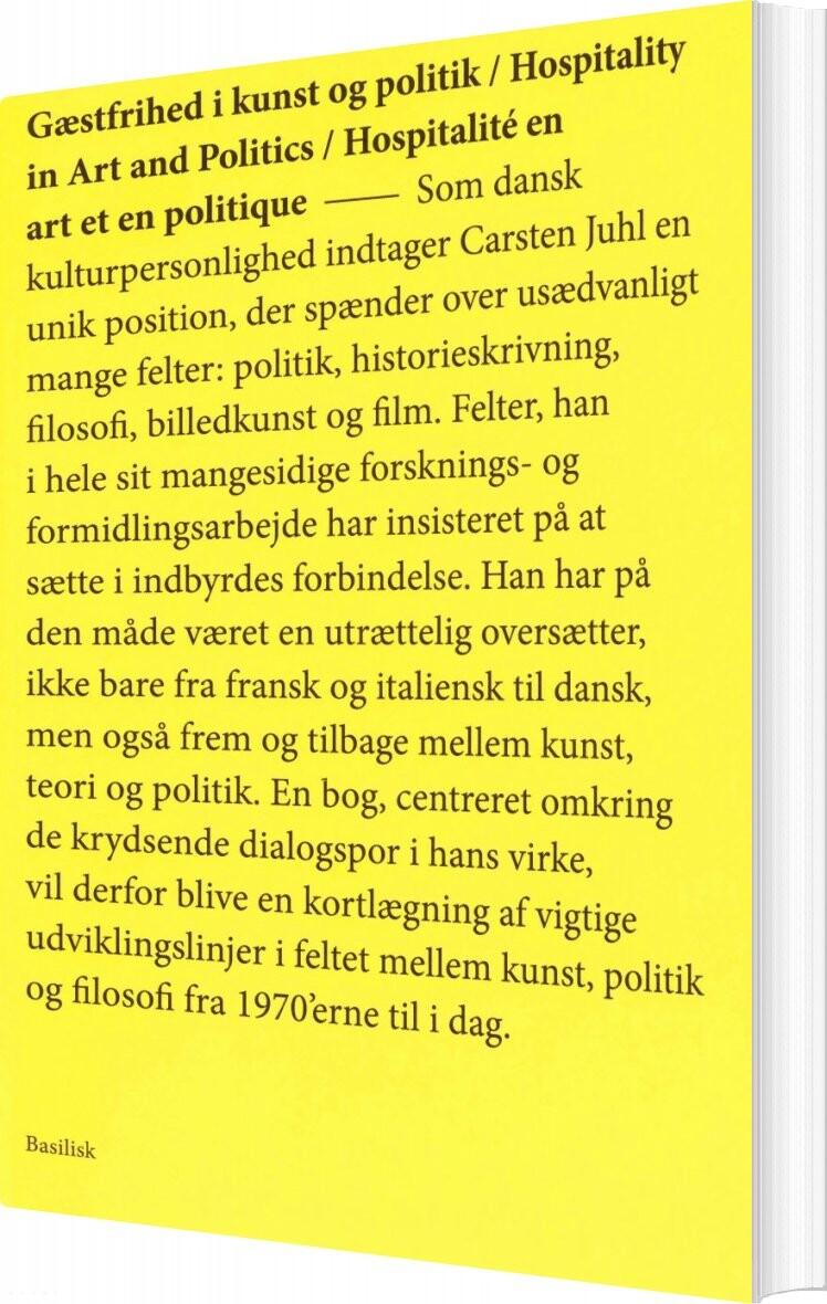 Image of   Gæstfrihed I Kunst Og Politik - Mikkel Bolt - Bog