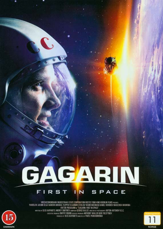 Image of   Gagarin - First In Space - DVD - Film