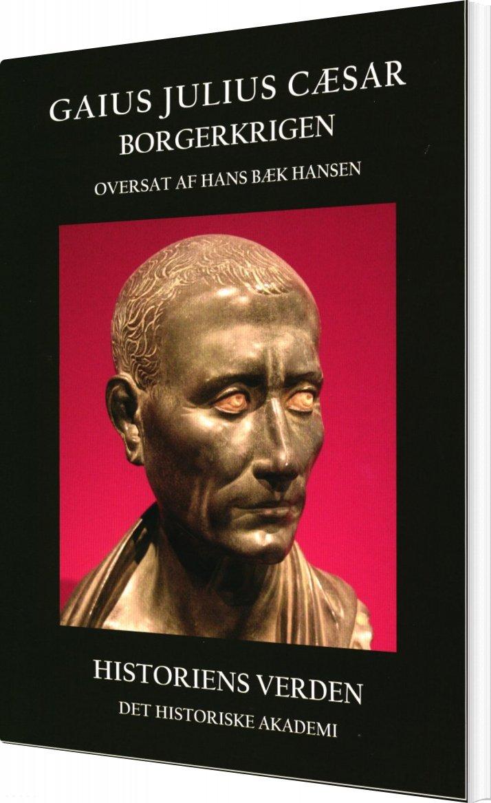 Image of   Gaius Julius Cæsar - Hans Bæk Hansen - Bog