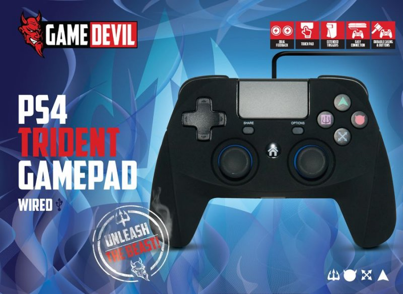 Image of   Game Devil Ps4 Controller Wired