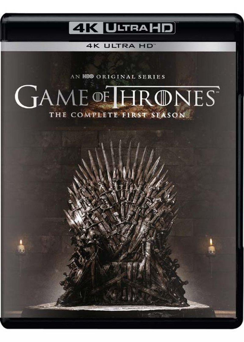 Game Of Thrones - Sæson 1 - Hbo - 4K Blu-Ray - Tv-serie