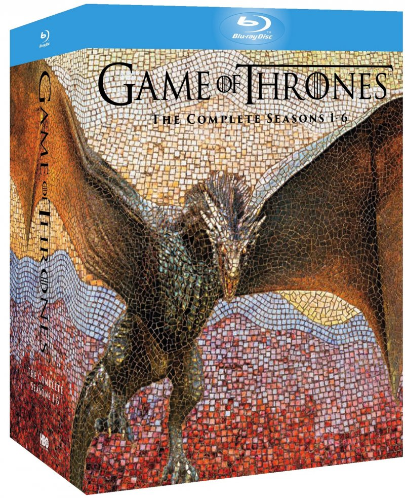Game Of Thrones - Sæson 1-6 - Hbo - Blu-Ray - Tv-serie
