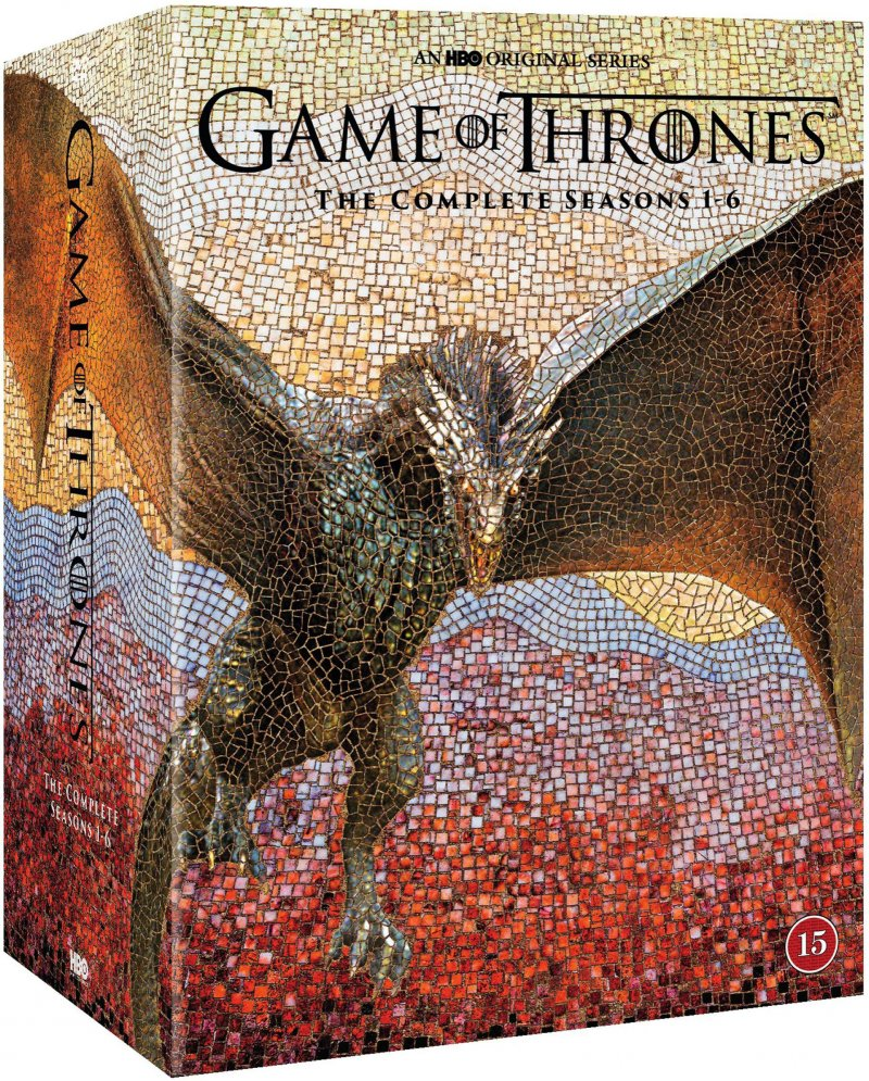 Game Of Thrones - Sæson 1-6 - Hbo - DVD - Tv-serie
