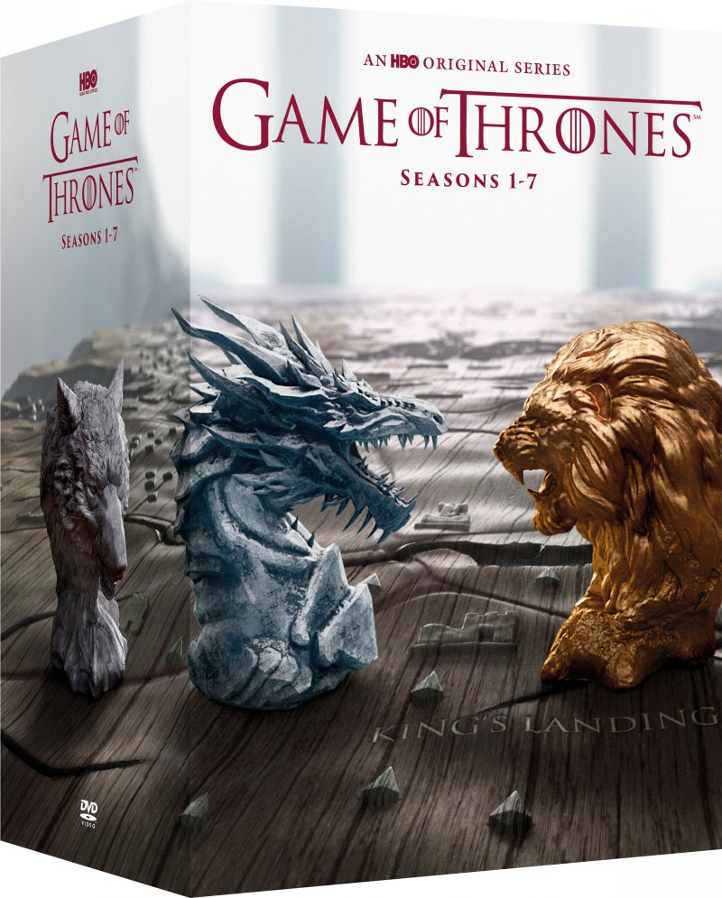 Game Of Thrones - Sæson 1-7 - Hbo - DVD - Tv-serie