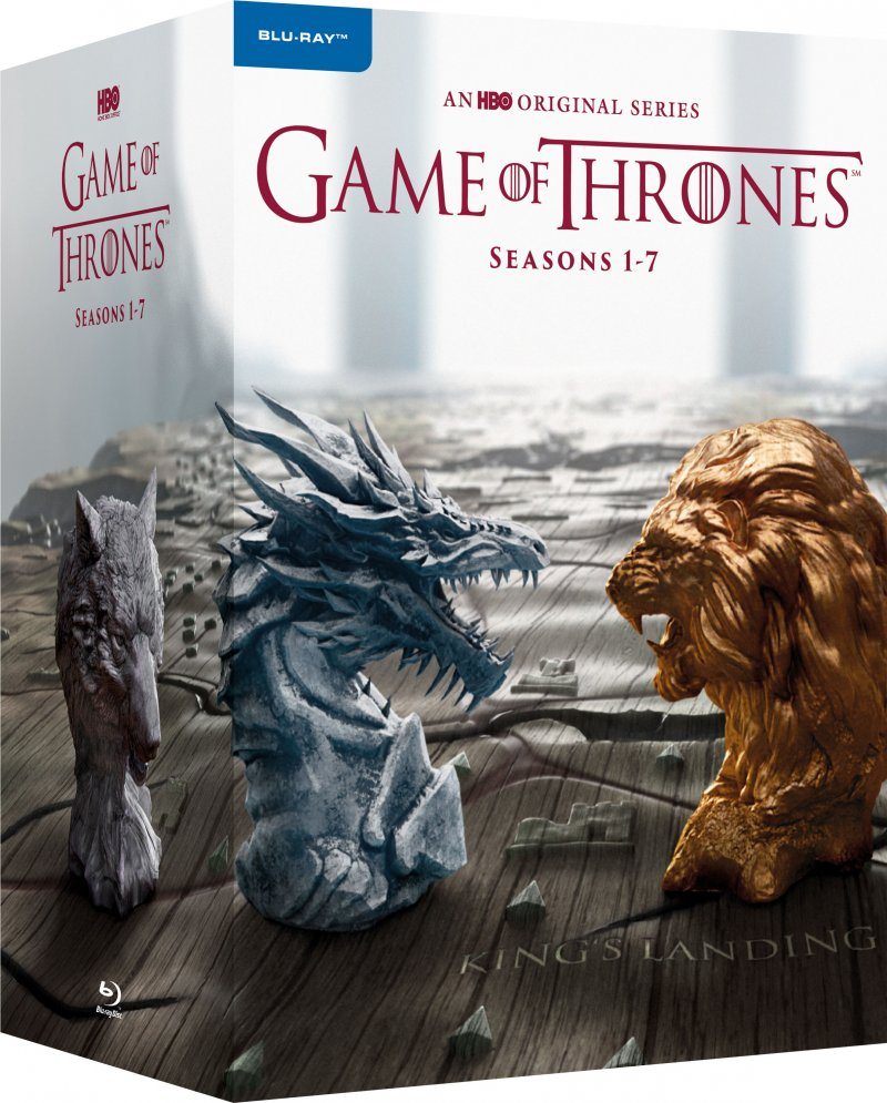 Game Of Thrones - Sæson 1-7 - Hbo - Blu-Ray - Tv-serie