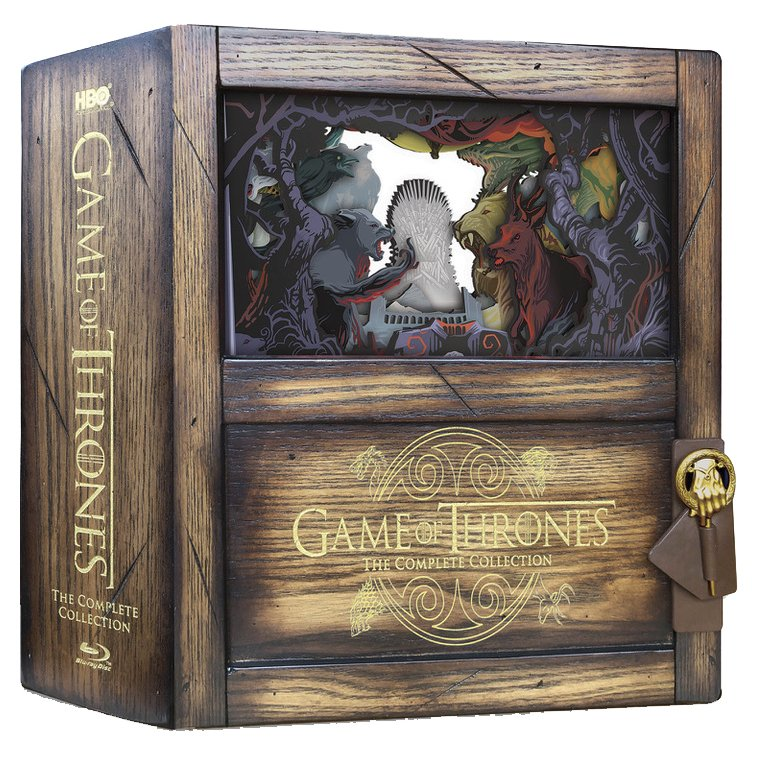 Image of   Game Of Thrones - Sæson 1-8 - Den Komplette Serie - Limited Edition - Blu-Ray - Tv-serie