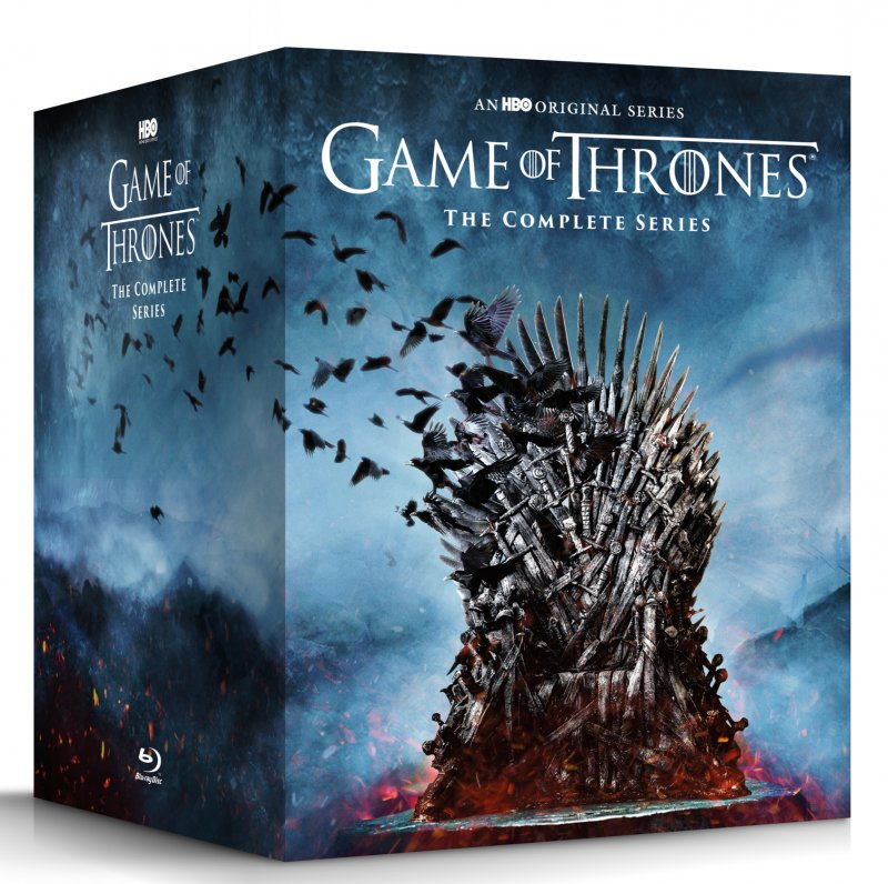 Image of   Game Of Thrones - Sæson 1-8 - Den Komplette Serie - Blu-Ray - Tv-serie
