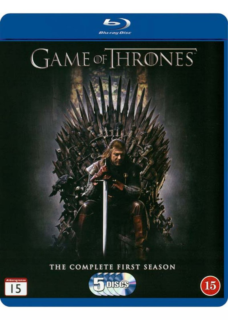 Image of   Game Of Thrones - Sæson 1 - Hbo - Blu-Ray - Tv-serie