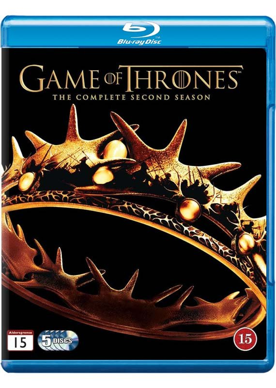 Game Of Thrones - Sæson 2 - Hbo - Blu-Ray - Tv-serie