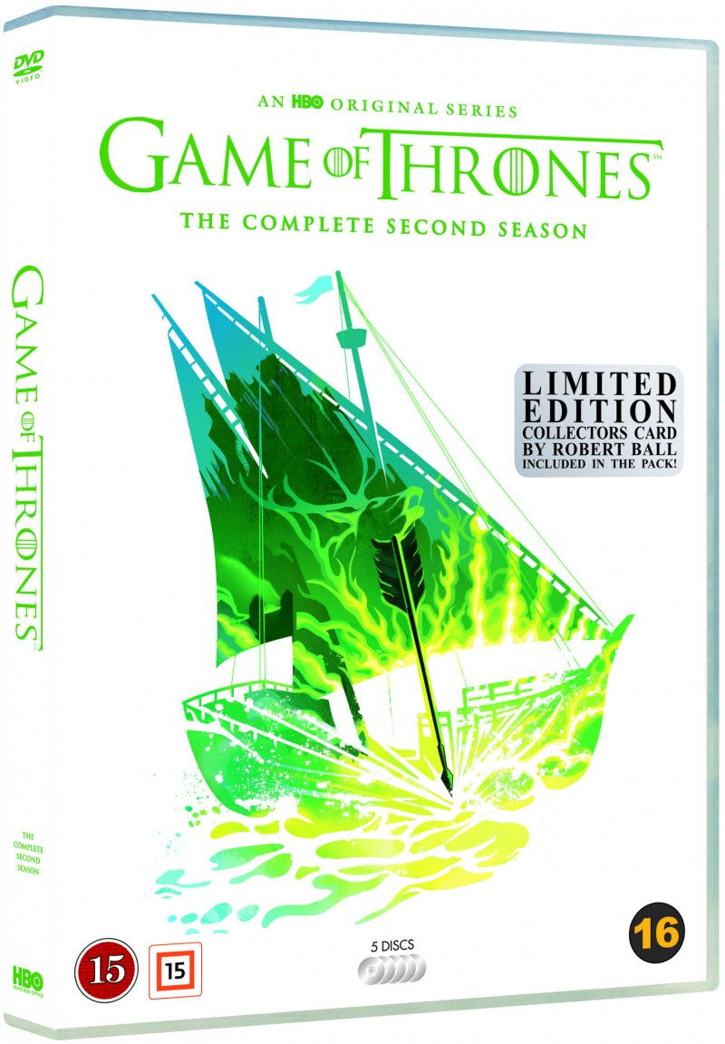 Game Of Thrones - Sæson 2 - Hbo - Robert Ball Limited Edition - DVD - Tv-serie