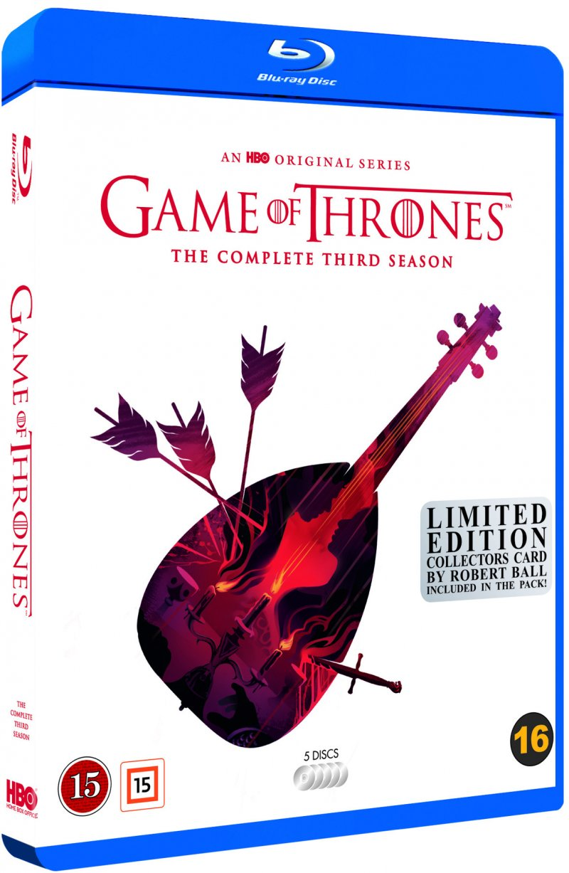 Image of   Game Of Thrones - Sæson 3 - Hbo - Robert Ball Limited Edition - Blu-Ray - Tv-serie