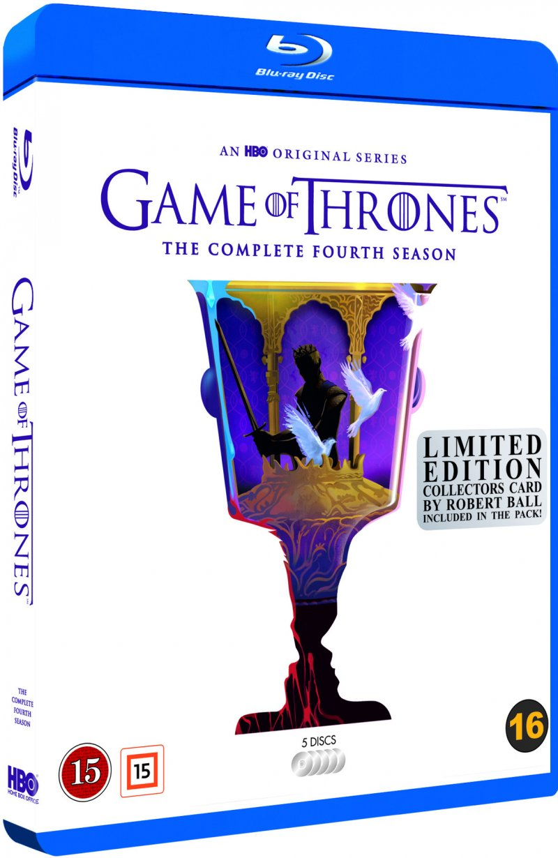 Image of   Game Of Thrones - Sæson 4 - Hbo - Robert Ball Limited Edition - Blu-Ray - Tv-serie