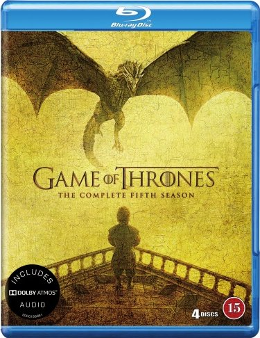 Image of   Game Of Thrones - Sæson 5 - Hbo - Blu-Ray - Tv-serie