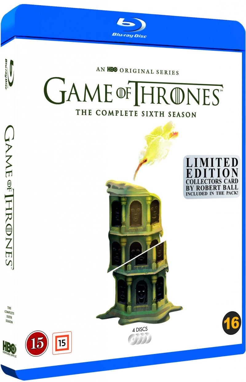 Game Of Thrones - Sæson 6 - Hbo - Robert Ball Limited Edition - Blu-Ray - Tv-serie