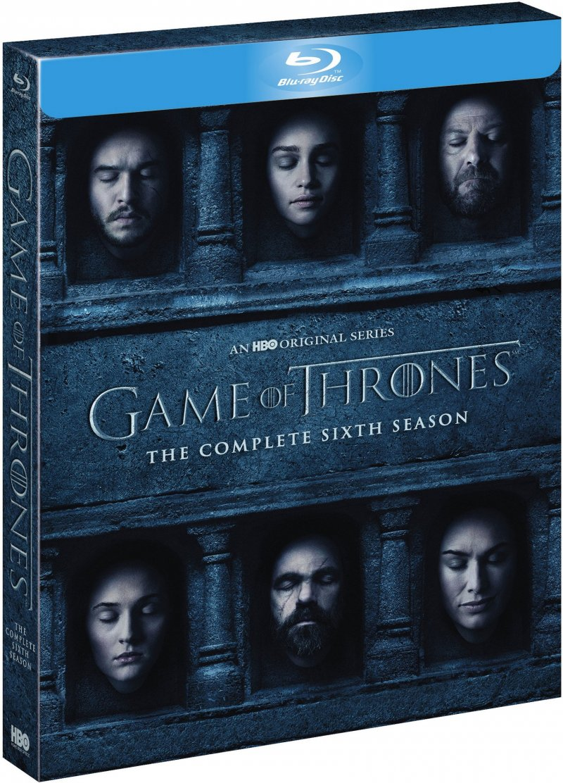 Image of   Game Of Thrones - Sæson 6 - Hbo - Blu-Ray - Tv-serie