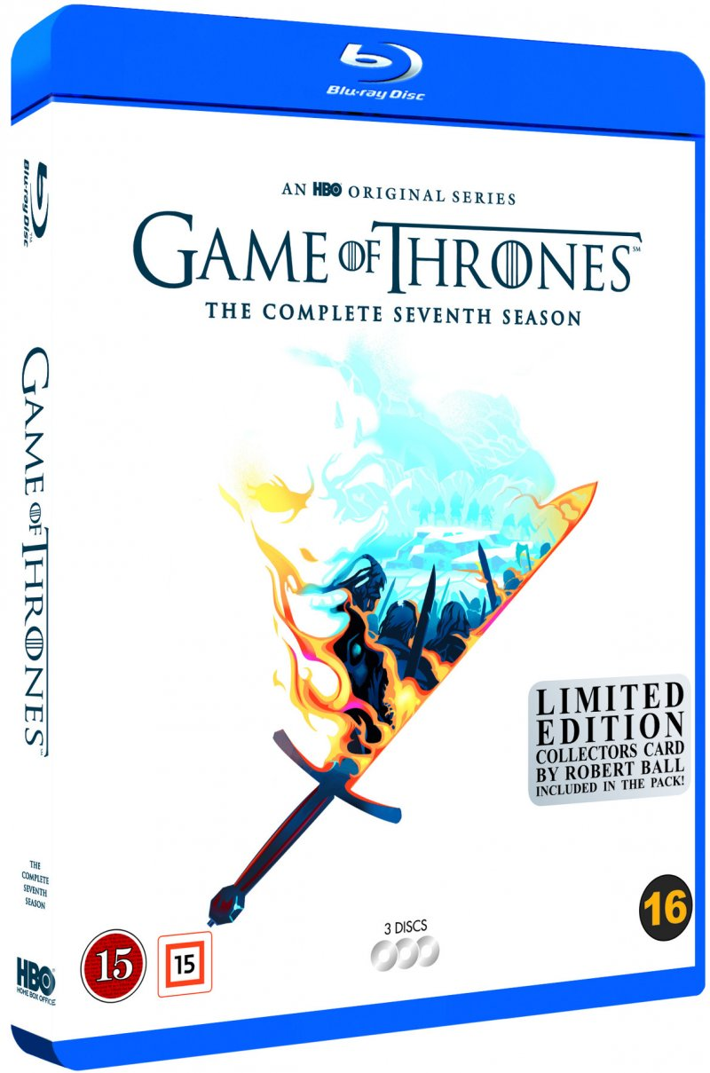 Image of   Game Of Thrones - Sæson 7 - Hbo - Robert Ball Limited Edition - Blu-Ray - Tv-serie