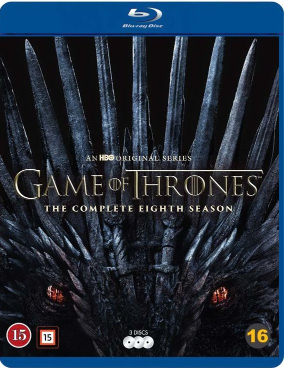 Image of   Game Of Thrones - Sæson 8 - Hbo - Blu-Ray - Tv-serie