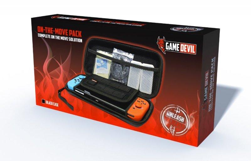 Image of   Gamedevil On The Move Pack - Etui Til Nintendo Switch I Sort