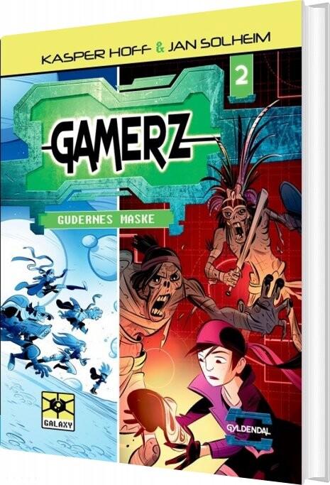 Gamerz 2 - Gudernes Maske - Jan Solheim - Bog