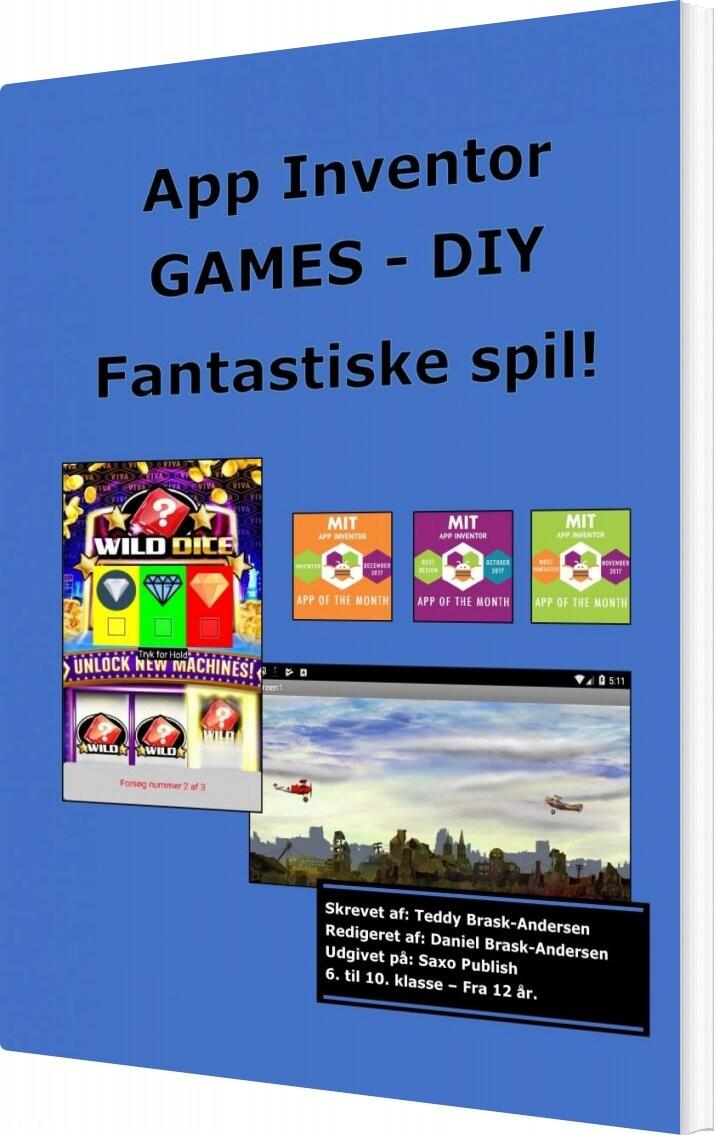 Billede af Games Med App Inventor - Diy - Teddy Brask - Bog