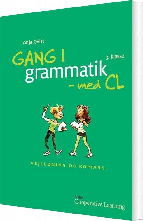 Image of   Gang I Grammatik - Med Cl, 3. Klasse. Vejledning Og Kopiark - Anja Rosa Qvist - Bog